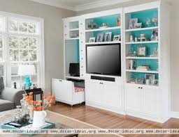 Enter The Office Nook Decor Ideas - Family room office