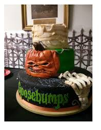 if only i could make this goosebumps party pinterest