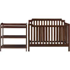 Convertible Crib Changer Combo by Baby Relax Kypton 3 In 1 Convertible Crib Espresso Walmart Com