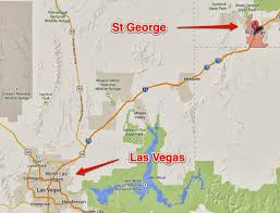 North Las Vegas Map by Richard U0027s Running Blog In Colorado St George Never In My Wildest