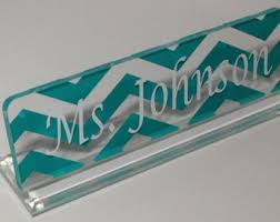 Custom Desk Name Plates by Coworker Gift Desk Nameplate Personalized Professional Office