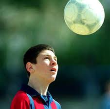 Messi cuando tenía 14 años
