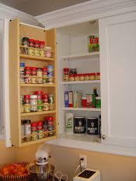 Wall Mounted Cupboards Tedd Wood Spice Storage On Inside Of Cabinet Door Storage