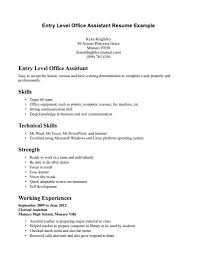 Student Resume Examples No Experience by Entry Level Medical Assistant Resumes Medical Assistant Resume 3