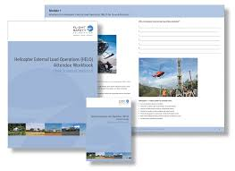 helicopter external load operations for ground personnel flight