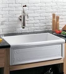Herbeau  Luberon Art Nouveau Fireclay Farmhouse Kitchen Sink - French kitchen sinks