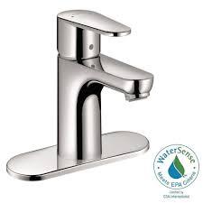 hansgrohe talis e2 single hole 1 handle bathroom faucet in chrome