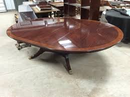 Custom Made Dining Room Furniture Custom 78 Inch Round American Made Dining Table With Leaves