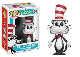 amazon com funko pop books dr seuss cat in the hat toy figure