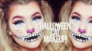 halloween cat make up tutorial rachel leary youtube