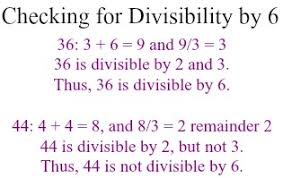 We see that both    and    are even  so they are both divisible by    Easy enough  Let     s look at the sum of their digits  Study com