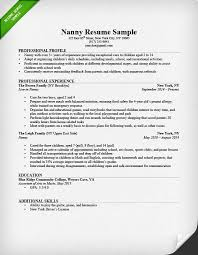 Resumes For Jobs Examples by Babysitter Resume Example U0026 Writing Guide Resume Genius