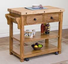 Kitchen Cart With Storage by Furniture Kitchen Farm House Varnished Mahogany Wood Open Shelf