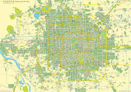 China City Map by Beijing City Complete And Full Map Overview City Entire By