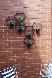 kmart hack beehive hexagon vertical garden beehive planters