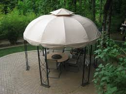 Replacement Canopy Covers by Lowes 12 Ft Round Gazebo Replacement Canopy S Gz1d Garden Winds