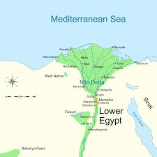Map Egypt Avaris Wikipedia