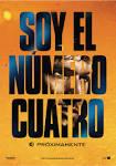 Teaser póster español de 'Soy el número cuatro'