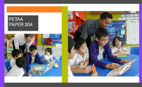 PETAA Papers home PETAA Banner and images of young children reading in a group with a teacher present