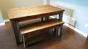benches dining tables robthebenchguy provincial pine table and bench set1