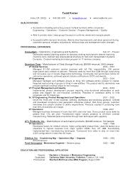 Example Resume  Sample Customer Service Resume Objectives With Professional Experience For Consultant  Sample Customer
