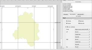 Map Grid How To Insert Co Ordinates Lat And Long In A Map Composer Of