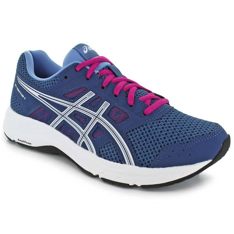 ASICS Gel-Contend 5 Running Shoes Blue- Womens