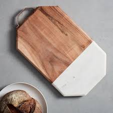 Cool Cutting Boards Marble Wood Cutting Board Large West Elm