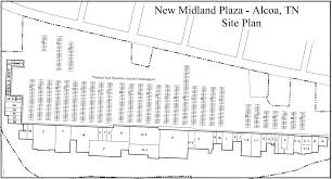 site plan new midland plaza