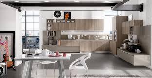 stunning modern industrial kitchen design with matching glossy