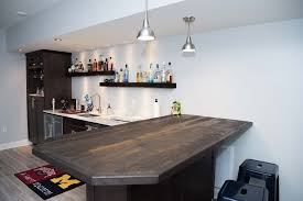 wet bar in fox creek subdivision rva remodeling llc