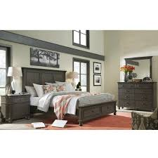 Palliser Alula Oxford Wood Storage Bed In Peppercorn Humble Abode
