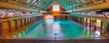 In Door Pool by Fairmont Springs Resort Montana Springs Olympic Sized