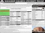 Admission Open for Postgraduate Program/Master Degree (BZU Multan ... bzupages.net