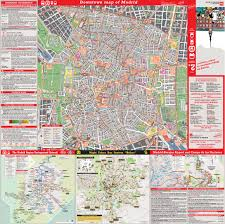 Madrid Spain Map by Large Detailed Tourist Map Of Madrid