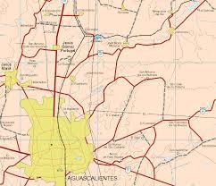 San Luis Potosi Mexico Map by Aguascalientes Mexico Map 11 Map Of Aguascalientes Mexico 11