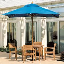 Best Wood Patio Furniture - patio furniture with umbrella for sunny summer days