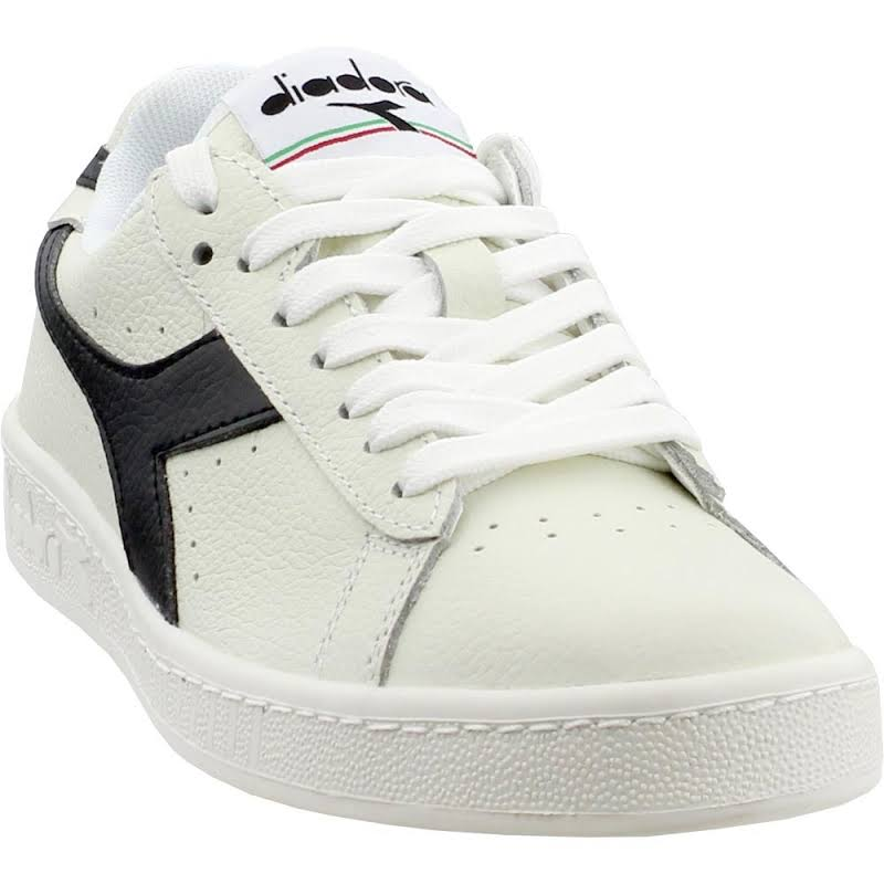 Diadora Game L Low 172526-C3159 White Leather Low Top Sneakers Shoes