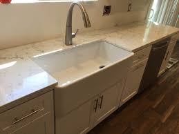Kitchen Cabinets White Shaker White Shaker Full Overlay Kitchen Cabinets With Quartz Carrara