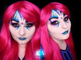 Halloween Makeup Application by Glitter Monster Halloween Makeup W Tutorial By Katiealves On