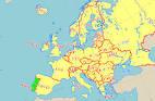 ポルトガル:ポルトガル地図