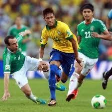 Pertandingan Brasil vs Meksiko Piala Konfederasi