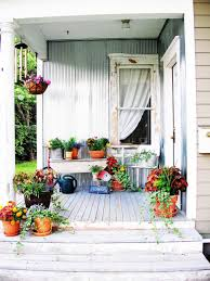 deco nature chic front porch decorating ideas from around the country diy