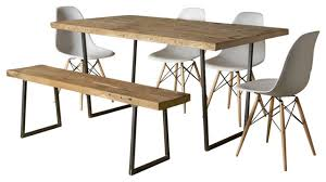 Rustic Modern Dining Room Tables by Dining Table Rustic Reclaimed Wood Dining Table Pythonet Home