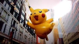 thanksgiving parade balloons macy u0027s thanksgiving day parade pikachu balloon by salamencecake