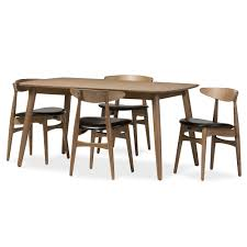 Mid Century Modern Dining Room Tables Baxton Studio Wholesale 5 Piece Sets Wholesale Dining Room