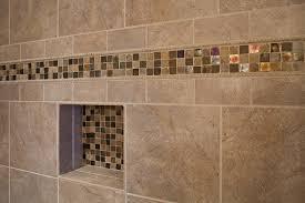 Bathroom Tile Ideas Traditional Colors Bathroom Shower Closeup On Accent Tile Traditional Bathroom