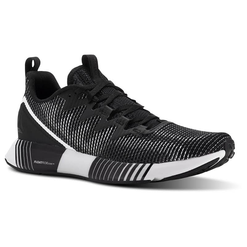 Reebok Fusion Flexweave Black Running Shoes