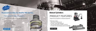 hydraulic cylinder repair seals and kits hercules sealing products