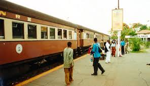 How to travel by train in Zimbabwe   a complete guide Seat    The night train from Bulawayo has arrived at Victoria Falls  The cars nearest the camera are British built cars dating from